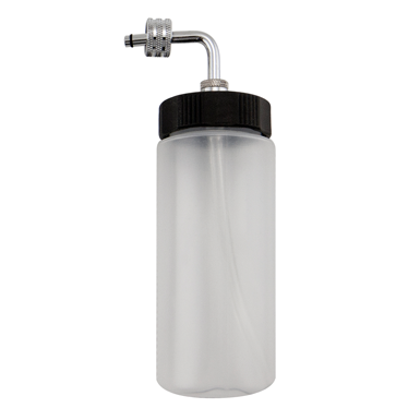 Sparmax 80 cc plastic bottle with metal assembly cap plus tube inside